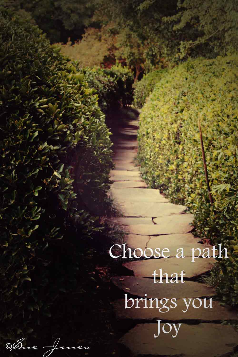 First we choose the path, then he chooses us 47